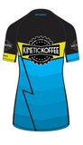 LIMITED EDITION WOMEN'S Mountain Cycling Jersey- Blue Lightning