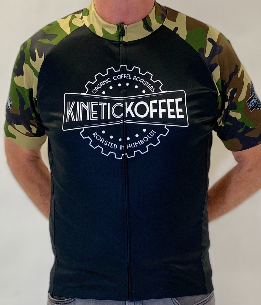 LIMITED EDITION MEN'S Road Cycling Jersey- Camo