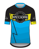 LIMITED EDITION MEN'S Mountain Cycling Jersey- Blue Lightning