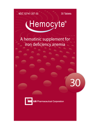 Hemocyte Iron Tablets -  30-Day Auto Renew