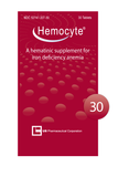Hemocyte Iron Tablets - 30