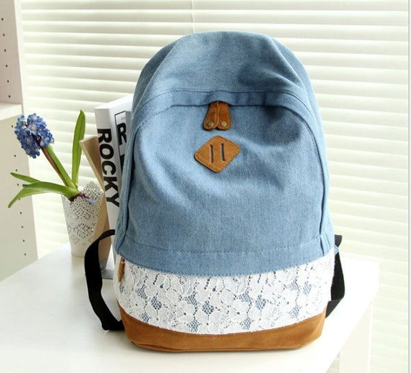 Floral Lace Backpack