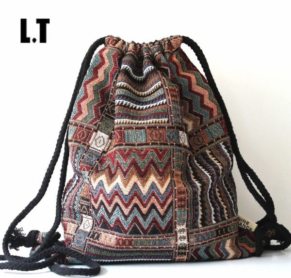 Boho Patterned Bag
