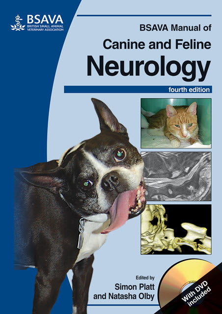 BSAVA Manual of Canine and Feline Neurology, (with DVD-ROM), 4th Edition