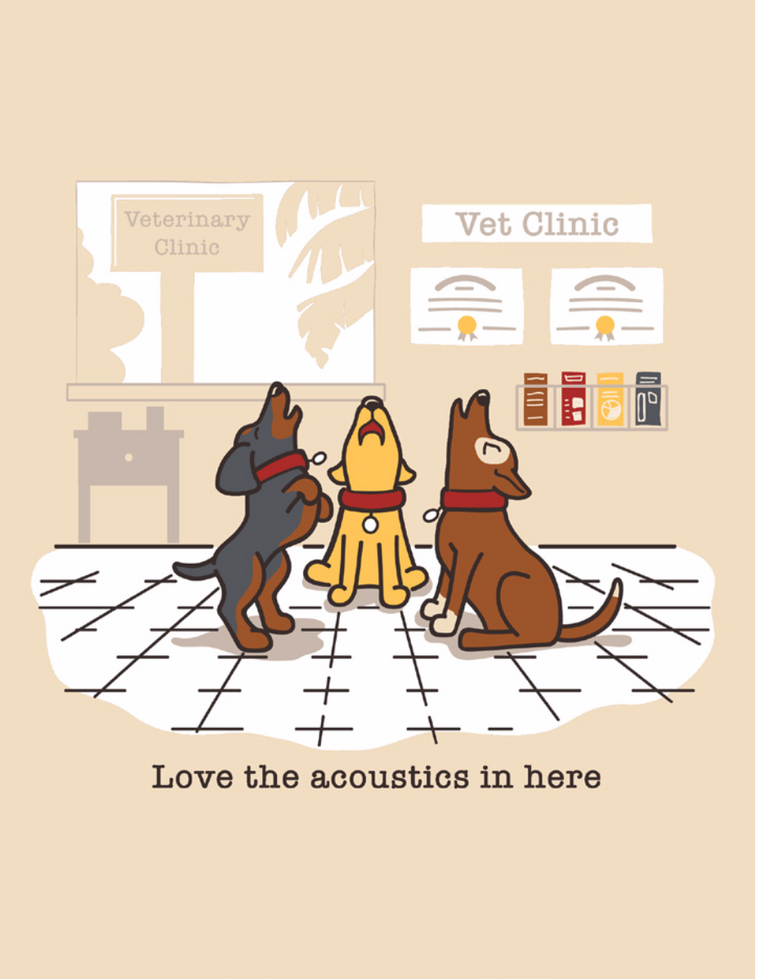 """Love the acoustics in here"" Men's T-Shirt"