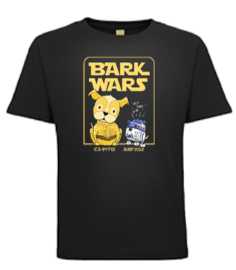 """Bark Wars"" Youth T-Shirt"