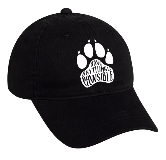 """Anything is Pawsible"" Hat"