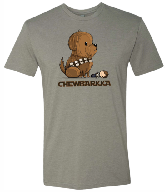 """Chewbarkka"" Adult T-Shirt"