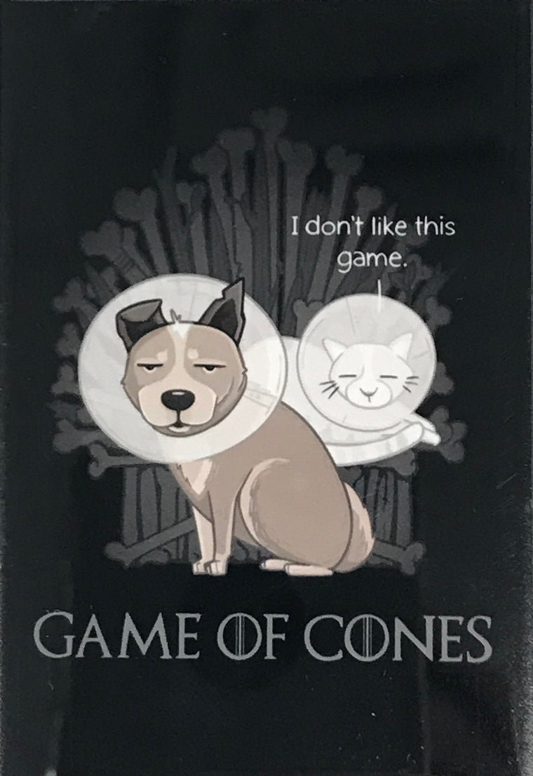 """Game of Cones"" Magnet"
