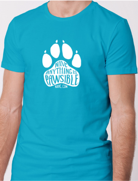 """Anything is Pawsible"" Short Sleeve T-Shirt"