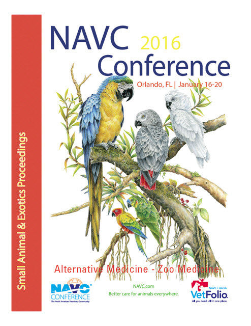 NAVC Small Animal And Exotics Proceedings 2016