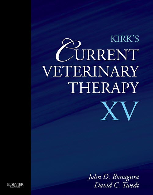 Kirk's Current Veterinary Therapy XV, 1st Edition