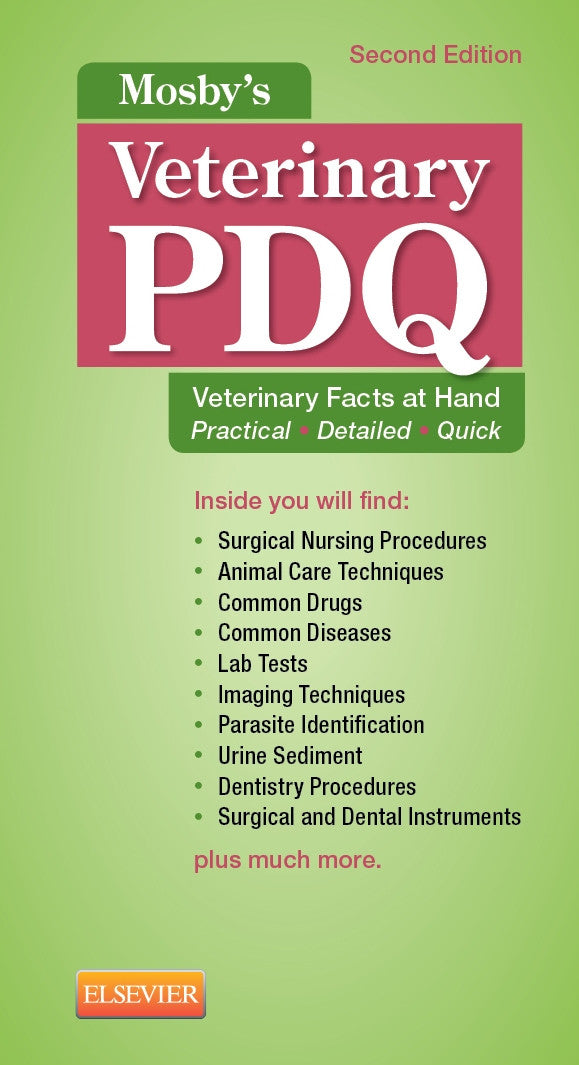 Mosby's Veterinary PDQ, 2nd Edition