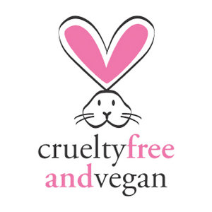 badge Peta logo cruelty-free and vegan friendly skincare