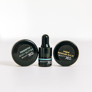 Mini The Originals Skincare Discovery Set with 3 trial size products by BEAUTY IN THE Raw