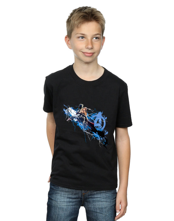 Marvel Boys Avengers Thor Splash T-Shirt
