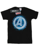 Marvel Boys Avengers Glowing Logo T-Shirt | Absolute Cult
