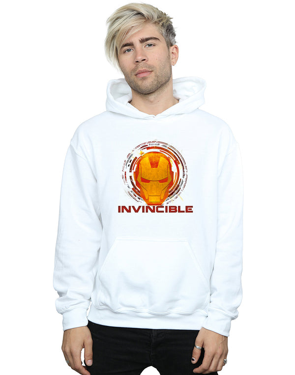 Marvel Men's Avengers Iron Man Invincible Hoodie