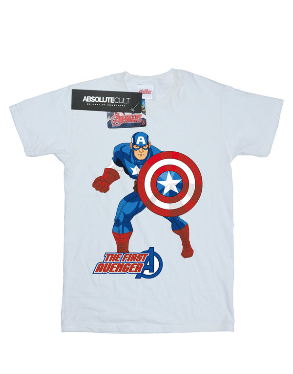 Marvel Men's Captain America The First Avenger T-Shirt | Absolute Cult