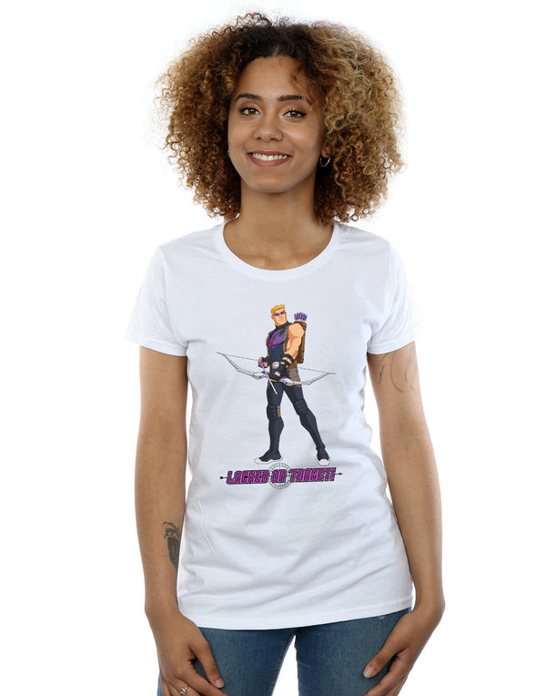 Marvel Women's Hawkeye Locked On Target T-Shirt | Absolute Cult