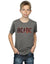 AC/DC Boys Logo Raw Distressed T-Shirt