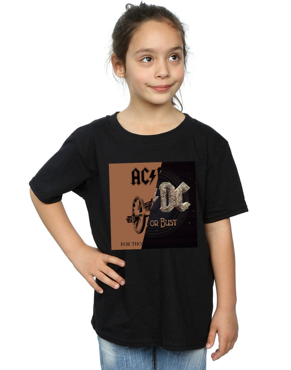 AC/DC Girls Rock or Bust / For Those About Splice T-Shirt