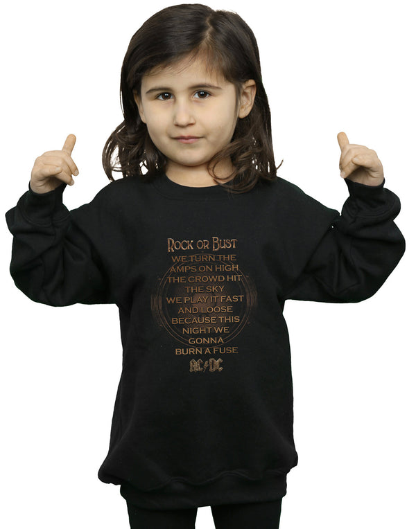 AC//DC /'Rock Or Bust/' Kids T-Shirt NEW /& OFFICIAL!