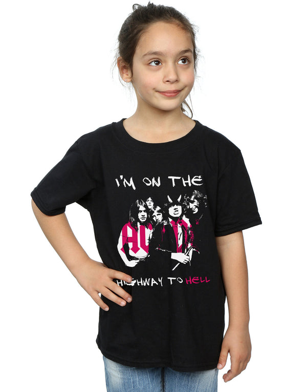 AC/DC Girls I'm On The Highway To Hell T-Shirt | Absolute Cult