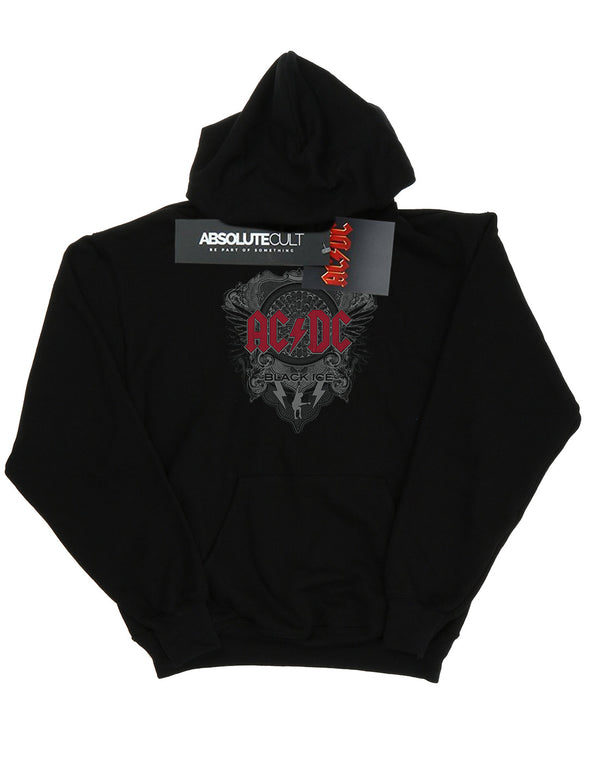 AC/DC Men's Black Ice With Red Hoodie | Absolute Cult