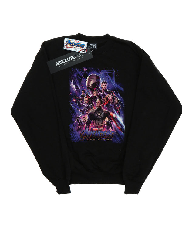 Marvel Women's Avengers Endgame Movie Poster Sweatshirt | Absolute Cult