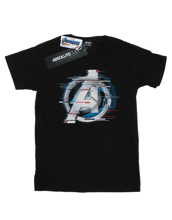 Marvel Men's Avengers Endgame Team Tech Logo T-Shirt