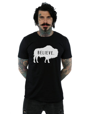 American Gods Men's Buffalo Believe T-Shirt Large Black Front Image