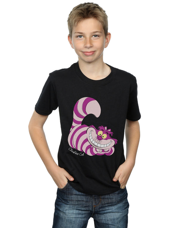 Disney Boys Alice In Wonderland Cheshire Cat T-Shirt | Absolute Cult