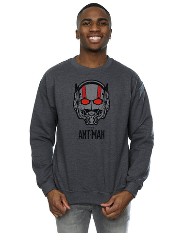 Marvel Men's Ant-Man Helmet Sweatshirt Front Image