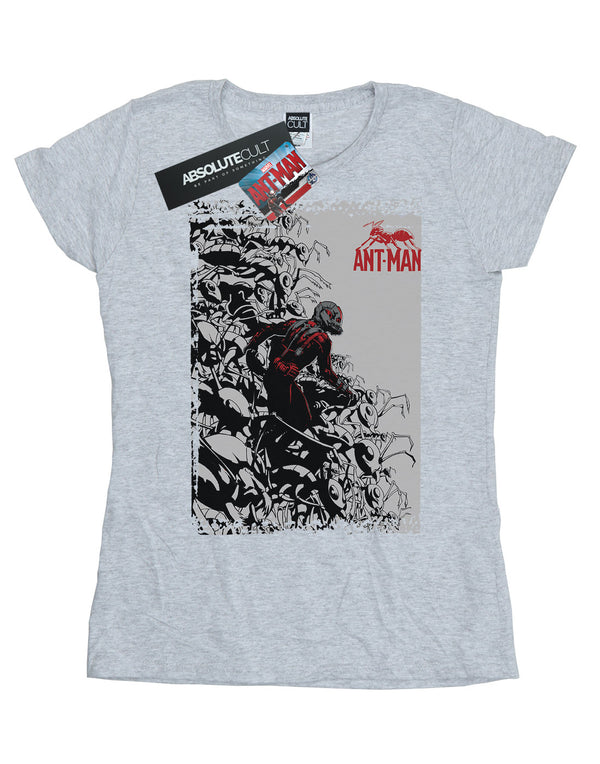 9c4df18df13 Marvel Women's Ant-Man Army T-Shirt | Absolute Cult | Pop Culture T ...
