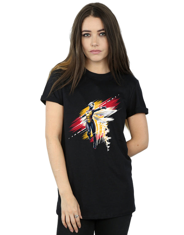 Marvel Women's Ant-Man And The Wasp Hope Brushed Boyfriend Fit T-Shirt