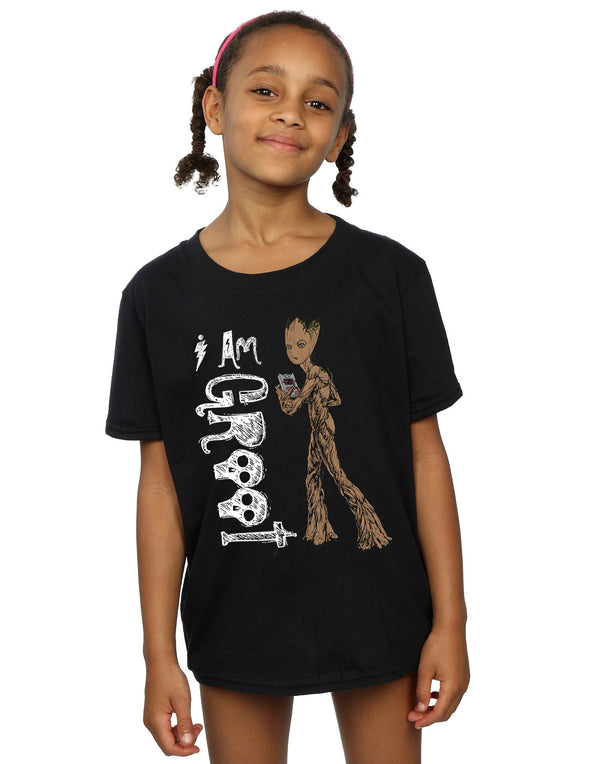 Marvel Girls Avengers Infinity War I Am Teenage Groot T-Shirt | Absolute Cult