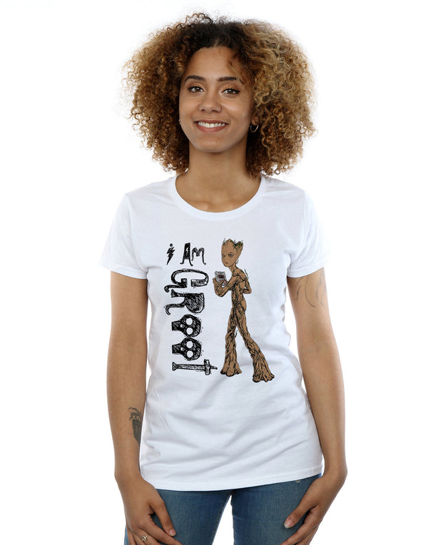Marvel Women's Avengers Infinity War I Am Teenage Groot T-Shirt | Absolute Cult