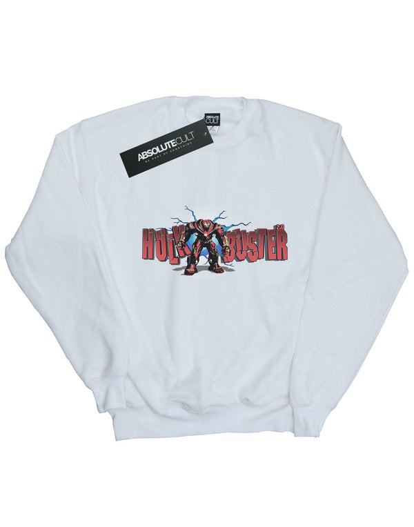 Marvel Boys Avengers Infinity War Hulkbuster 2.0 Sweatshirt | Absolute Cult