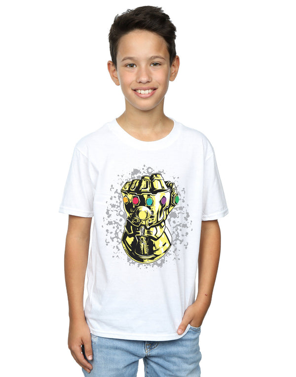Marvel Boys Avengers Infinity War Thanos Fist T-Shirt