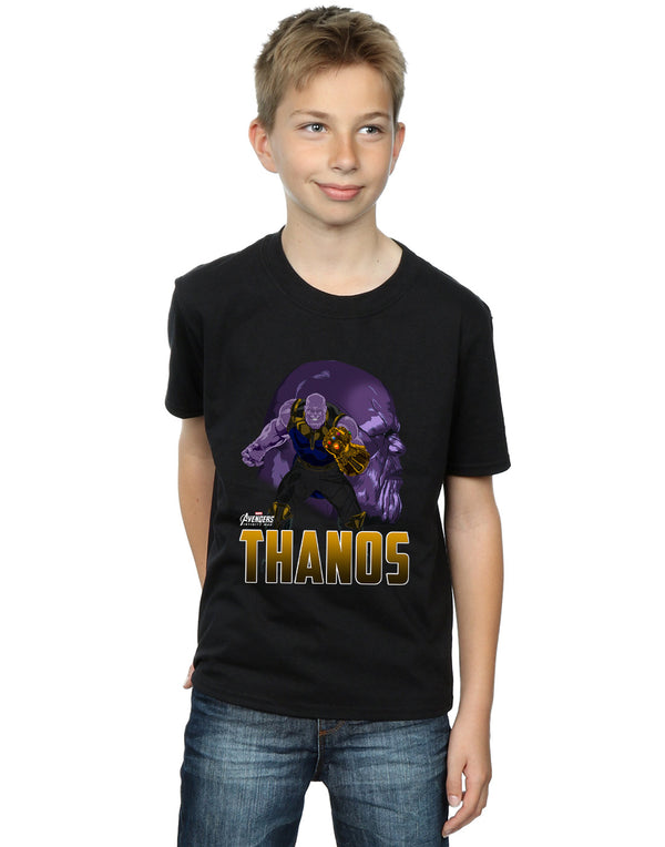 Marvel Boys Avengers Infinity War Thanos Character T-Shirt