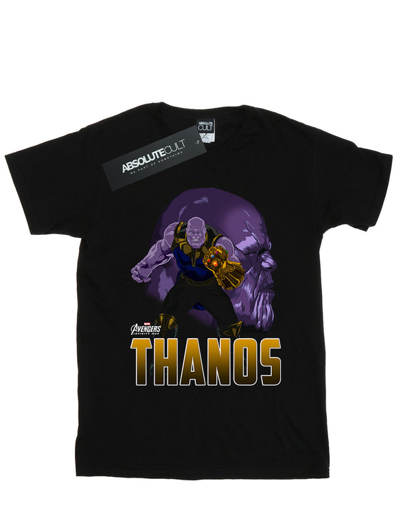 Marvel Boys Avengers Infinity War Thanos Character T-Shirt | Absolute Cult