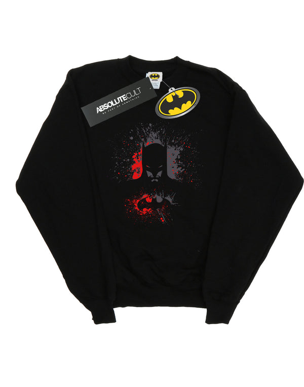DC Comics Boys Batman Splash Sweatshirt | Absolute Cult