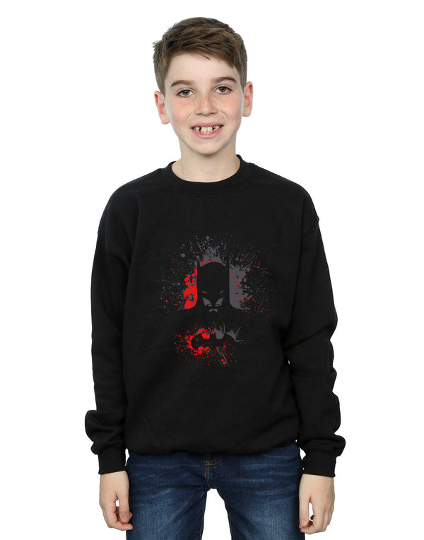 DC Comics Boys Batman Splash Sweatshirt