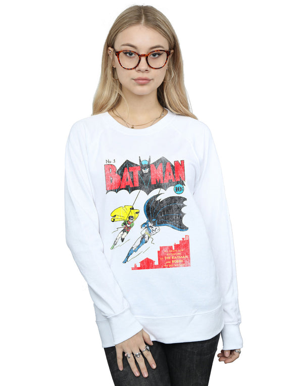 DC Comics Women's Batman Issue 1 Cover Sweatshirt