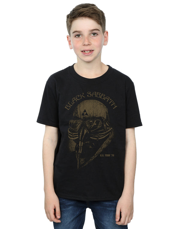 Black Sabbath Boys Tour 78 T-Shirt