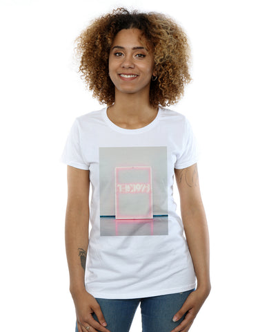 The 1975 Women's Neon Sign Tour T-Shirt Large White Front Image