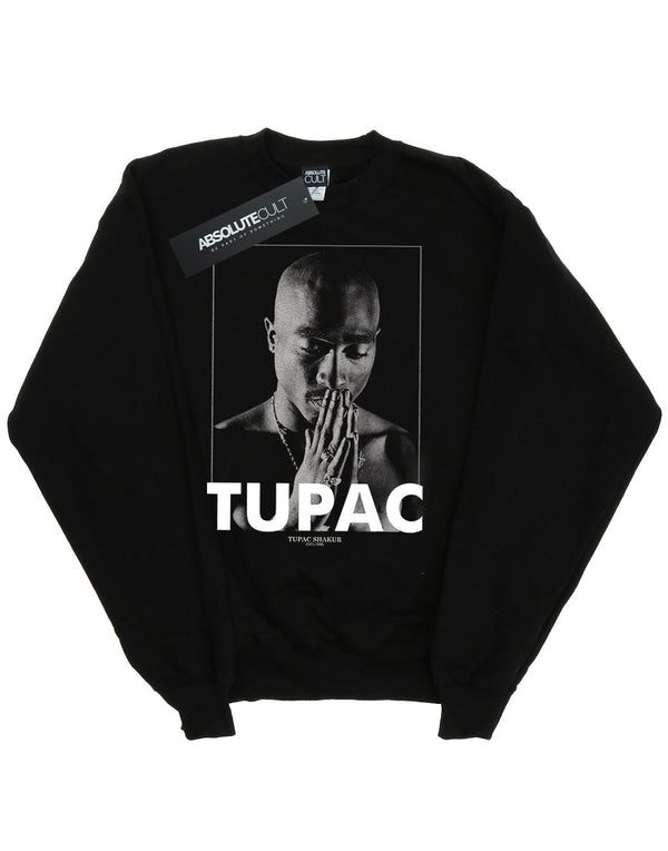 2Pac Girls Tupac Shakur Praying Sweatshirt | Absolute Cult
