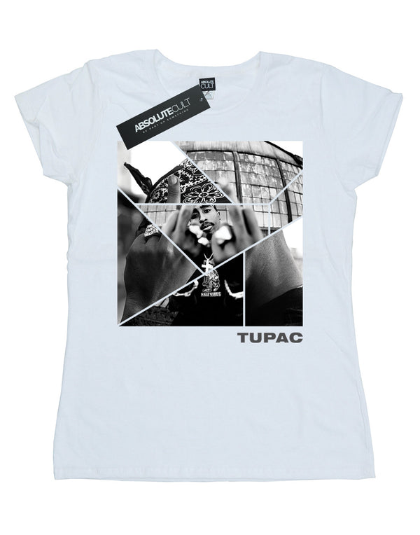 2Pac Women's Broken Up T-Shirt | Absolute Cult