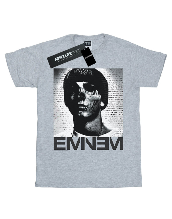 Eminem Boys Skull Face T-Shirt | Absolute Cult